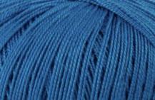 Coton Oeko-Tex bleu  pour bijoux au crochet