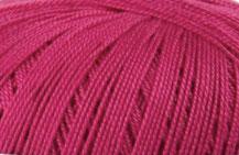 Coton Oeko-Tex rose pétunia pour bijoux au crochet