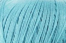 Coton Oeko-Tex turquoise clair pour bijoux au crochet
