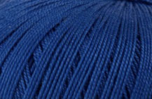 Coton Oeko-Tex bleu royal pour bijoux au crochet