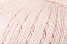 Coton Oeko-Tex rose pastel pour bijoux au crochet