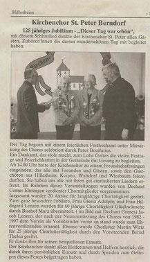 Artikel Amtsblatt Septemeber 2007