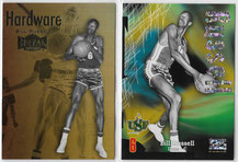 "BILL RUSSELL / Fleer ""Retro"" (SUPER RAVE #d 44/50 / HARDWARE)"