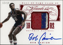 BOB LANIER / Hall of Fame - No. HOF-BL  (#d 12/15)