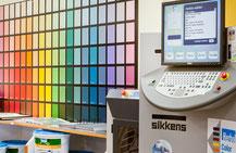 Farbmischanlage bei Möhlmann