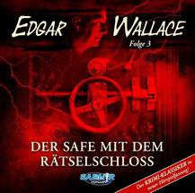 CD Cover Edgar Wallace Safe mit dem Rätselschloss