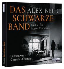 CD Cover Das Schwarze Band von Alex Beer