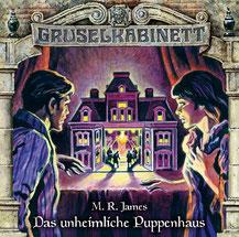 CD Cover Grusekabinett  Das unheimliche Puppenhaus