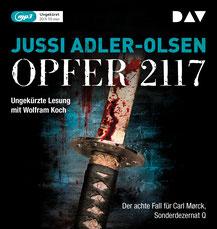 CD Cover Opfer 2117, Adler-Olsen