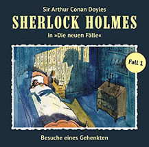 CD Cover Sherlock Holmes Fall 1
