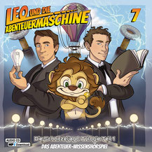 CD Cover Leo und die Abenteuermaschine 7