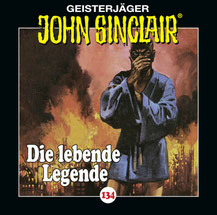 CD Cover John Sinclair Die lebende Legende