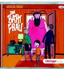 CD-Cover Die Bart-Frau