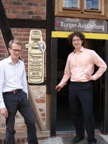 Bild: Burger-Ausstellung Glashütte