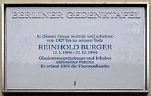 Reinhold Burger Erfinder Der Thermoskanne Röntgenröhre Kaltes