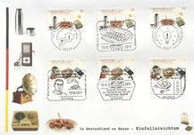Thermosflasche- Briefmarke- Deutsche Erfindungen