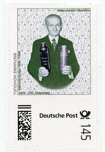 Erfinder der Thermos, Reinhold Burger