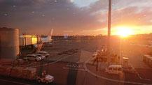 夕日のイメージ写真