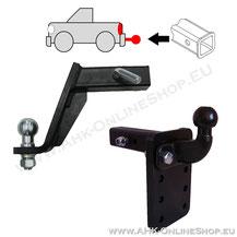 AHK-Adapter für Reimportautos