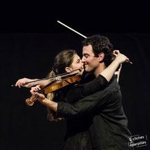8 mars 2013. Virginie Basset et Gabriel Lenoir. Maison des Cultures de Pays. Parthenay.