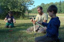 Naturhandwerk Sommercamp