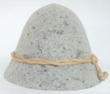 72593 Melkerhut grau-marmoriert