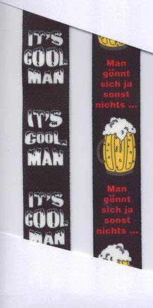 """""""It's cool man""""  """"Man gönnt sich..."""""""