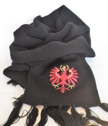 Schal Tiroler Adler schwarz