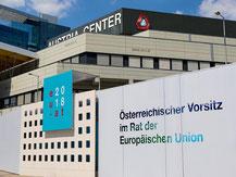 Austria Center Vienna Österreichischer Vorsitz im Rat der Europäischen Union