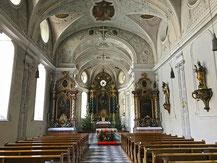Heilg Geist Kirche Blick auf den Altar