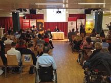 Österreichische Behindertenrat Veranstaltung mit induktiver Höranlage