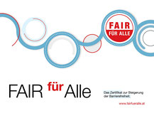 Fair für Alle - Zertifikat zur Steigerung der Barrierefreiheit