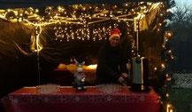 Weihnachtsstand mieten mit leckerem Glühwein und Lebkuchen für die After Work Party