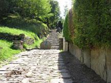 La voie romaine à Sare