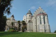 Le Château Abbadia à Hendaye