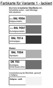 Farbkarte Mülltonnenboxen Var. 1