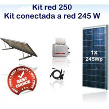 Kit fotovoltaico autoconsumo
