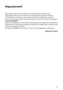 """""""ARTE E NUOVI DIALOGHI""""  DOMUS CCXVIII Materici IV ed. 2019  collettiva di pittura presso Auditorium (Casa del Popolo) via Don Veneziani, 64 Rivergaro (Piacenza)     dal 15 giugno al 7 luglio 2019  orari mostra: giovedì e venerdì 21:00 - 23:00 sabato e d"""