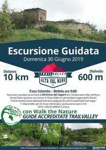Escursione Guidata con Walk the Nature con fermata da  woods azienda agricola - loc. Buzzetti  30 giugno 2019