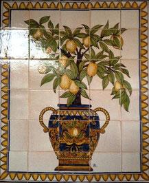 """""""Zitronenbäumchen Oriental"""" Art.-Nr.: PN-104, Größe: 84x70cm"""