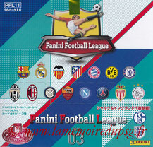 Panini Football League 2015 - PFL11 - Couverture Album