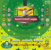 Panini Football League 2014 - PFL07 - Couverture Album
