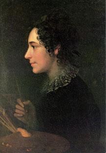Autoportrait (1819) © Rosgartenmuseum, Constance