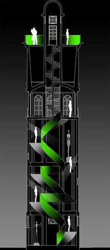 Concept Château d'Eau Le Corbusier à Podensac