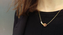 Necklace Olive Wood        €22