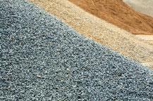 Sand · Schotter · Kies
