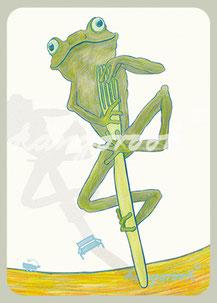Magnet: frosch otto / kängorooh / 2019