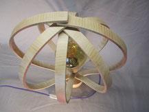 détail lampe bois.CCL ébéniste