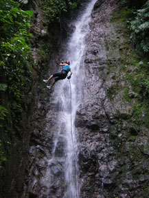 Arenal Combo Tour: Waterfall + Canopy + Canyoneering