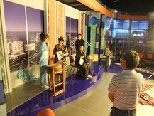 Ryuz in a TV interview, Samarkand
